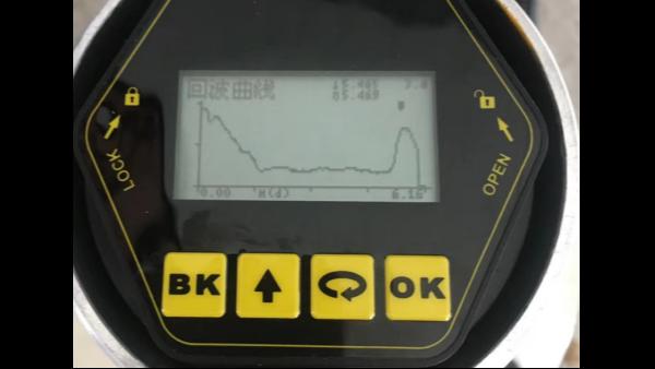 雷达液位计在测量低介电常数