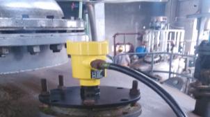 雷达物位计案例:测量浓硫酸
