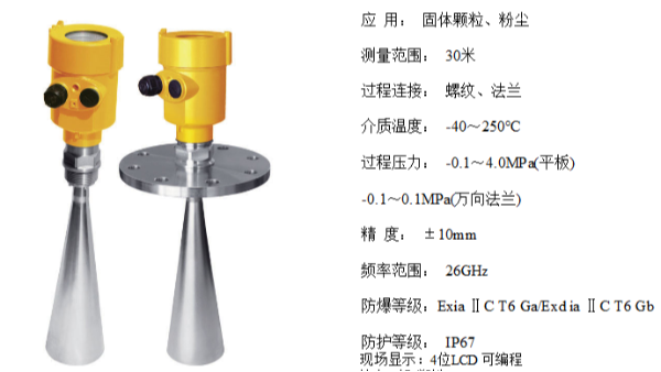 高频雷达液位计有哪些测量特点?——智能雷达液位计特点