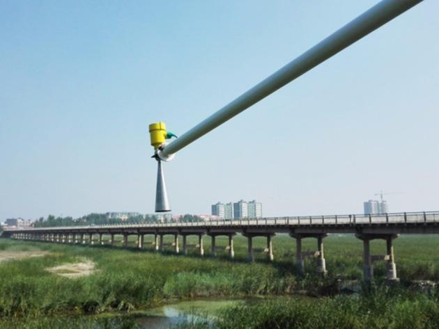 河北霸州水利雷达水位计应用-慧博新锐案例