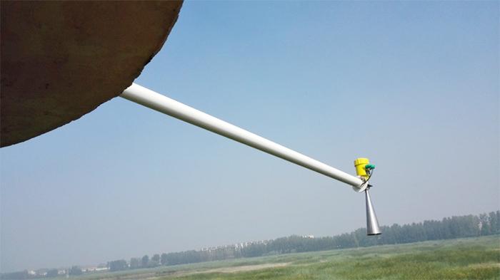 河北霸州水利雷达物位计应用-慧博新锐案例
