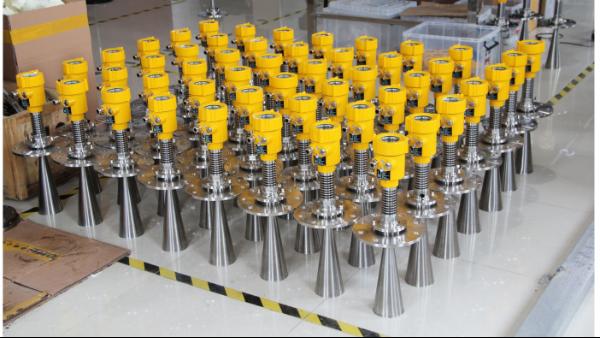 雷达液位计测量出现液位指示最大